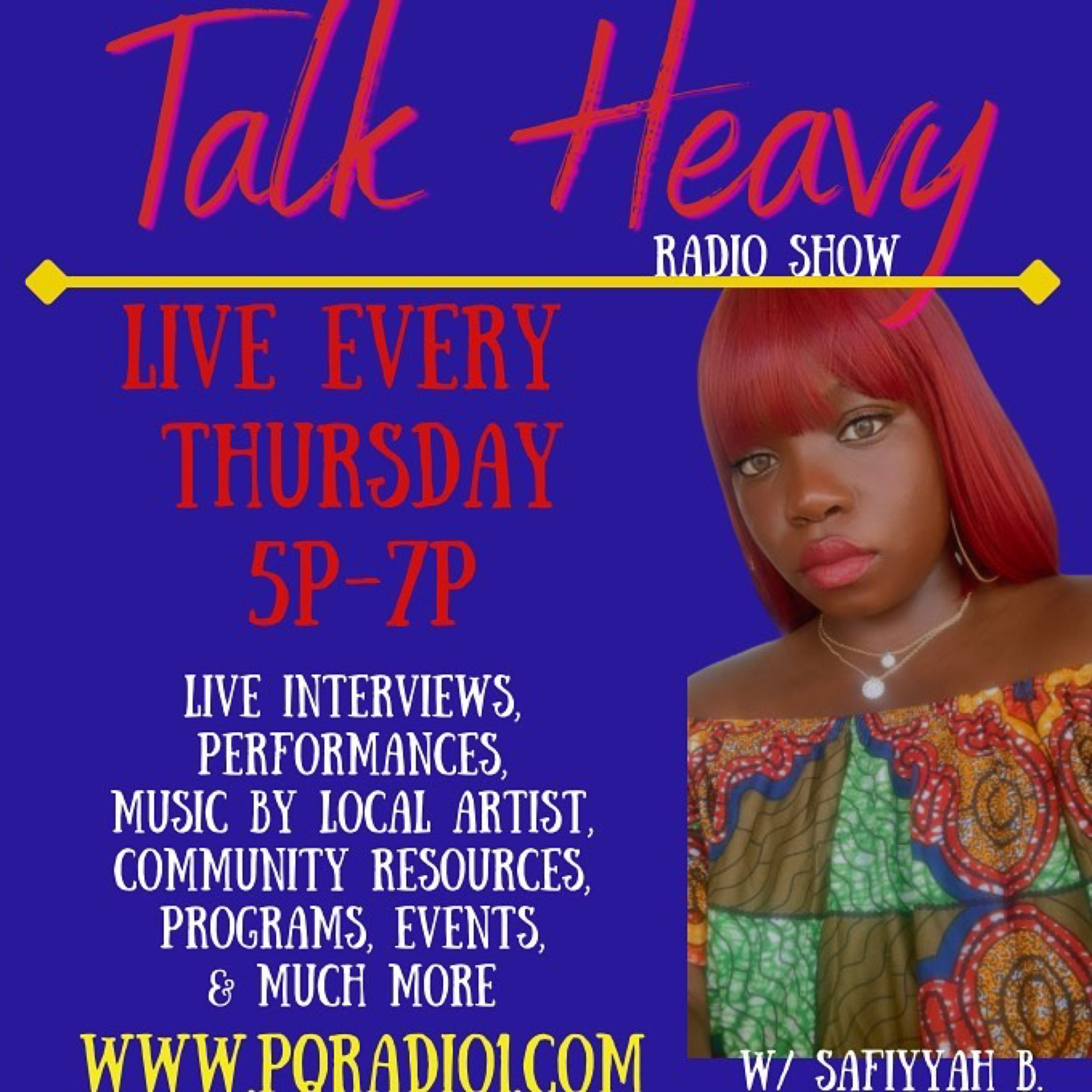 The Talk Heavy Show – Thursdays at 5pm